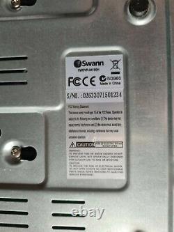 Swann Swdvr8-4100h 8 Canaux Enregistreur Vidéo Numérique + Souris Logitech Pas De Télécommande