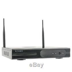 Système De Caméra De Vidéosurveillance Sans Fil Cctv 8ch Avec Disque Dur Enregistreur 2 To Hdd