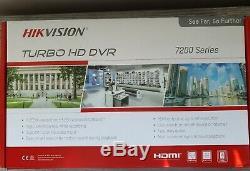 Système De Sécurité De Cctv Boutique Accueil Hd Enregistreur Vidéo Numérique 4 Caméras Hd 30m Câbles