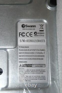 Tout Nouveau Swann Dvr-1260 8 Channel 1tb Hdd Cctv Digital Video Recorder #ref82