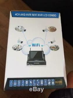 Wifi 10.1 4ch Cctv Sans Fil Enregistrement Dvr Caméra Wifi Système Nvr