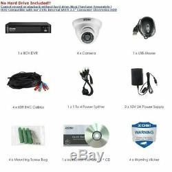 Zosi 1080p Hd-tvi Home Security Camera System, 8 Canaux 1080n Cctv Magnétoscope Numérique