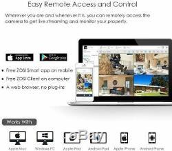 Zosi 1tb 8 Canaux 1080n 720p Dvr Enregistreur Pour Le Système Cctv Caméra De Sécurité Ahd
