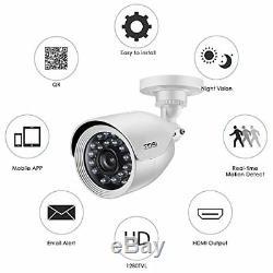 Zosi 720p 8-channel Caméra De Sécurité System1080n Hd-dvr Enregistreur Cctv Tvi