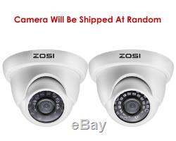 Zosi Caméra Cctv 1080n 8ch Dvr Enregistreur 1tb 3000tvl Home Security Camera System