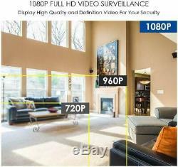 Zosi Cctv 8ch Dvr Enregistreur Avec Disque Dur De 1 To De H. 264+ Hdmi Sécurité À La Maison
