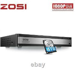 Zosi Smart Cctv Dvr Recorder 16 Channel 4tb Hdd 1080p Vidéo Vga Hdmi Bnc Tvi Ahd