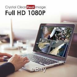 Zosi Système Caméras De Sécurité 8ch 1080p Hd-tvi Cctv Magnétoscope Numérique Avec 2 To Hdd 8 W