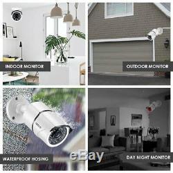 Zosi Système Caméras De Sécurité 8ch Hd 1080p-tvi Cctv Dvr Enregistreur Disque Dur 2 To Avec